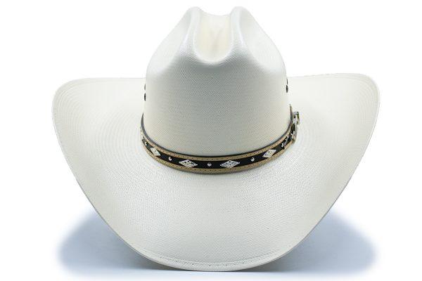 Sombrero Tombstone Blanco Shantung