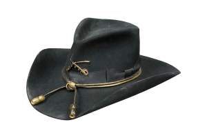 Sombrero Charlie 1 Horse Cavalry WInsignia Black