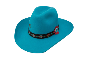 Sombrero Charlie 1 Horse Wild Tribe 5x Turquoise