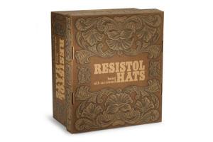 Caja Oficial Resistol Dorada