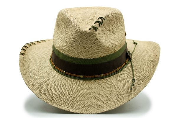 Sombrero Panameño Tejido Natural