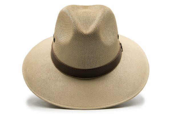 Sombrero de Malla Crema Sombreros La Nutria