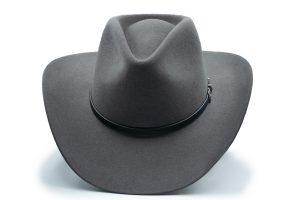 Texana Gris Impermeable Stetson Pelo 4x