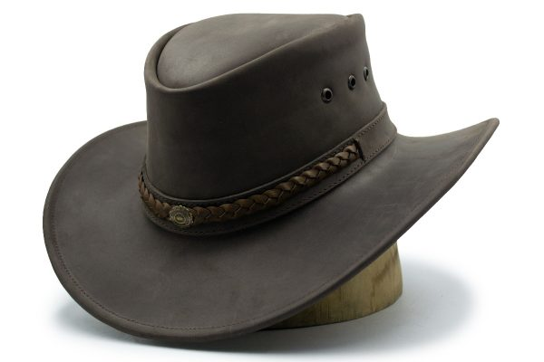 Sombrero Nicol Hats Australiano de Piel