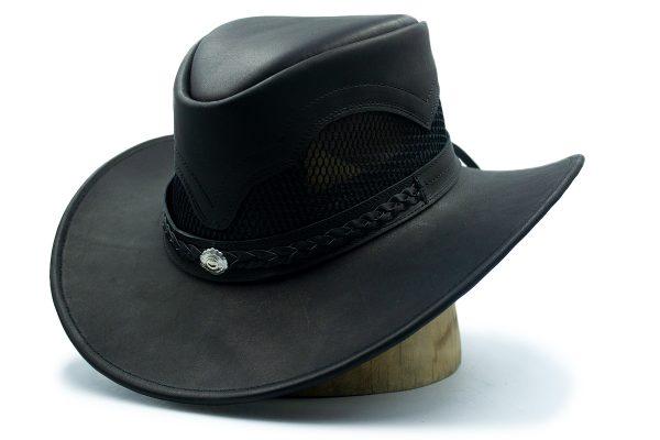 Sombreros Piel Negro Australiano
